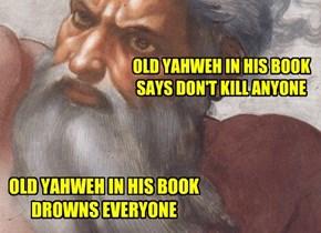 Old Yahweh...