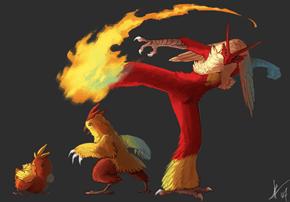 Beware of Fire Chickens