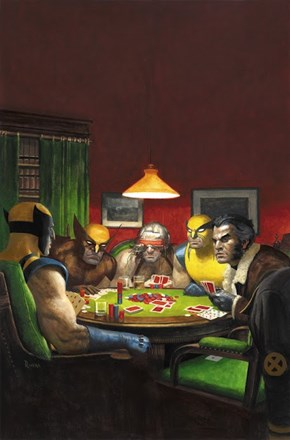 Wolverine's Playing Poker