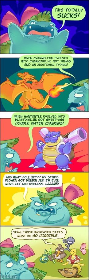 Should You Feel Bad for Venusaur?