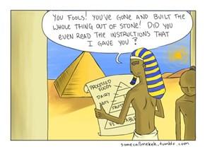 New Development Regarding How The Pyramids Were Made