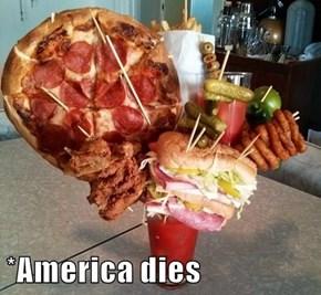 *America dies