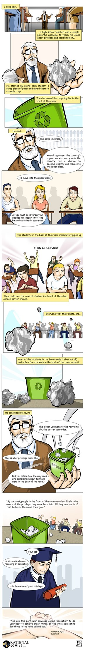 This Comic Demonstrates What Privilege Looks Like