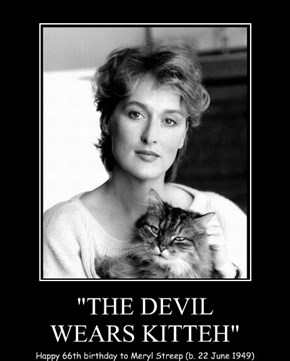 """THE DEVIL WEARS KITTEH"""