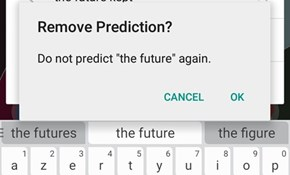 SwiftKey Hates Everything