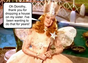Glinda: not as good as you think.