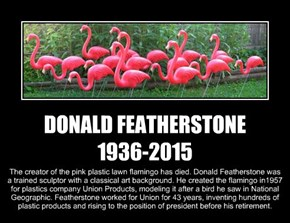 DONALD FEATHERSTONE 1936-2015