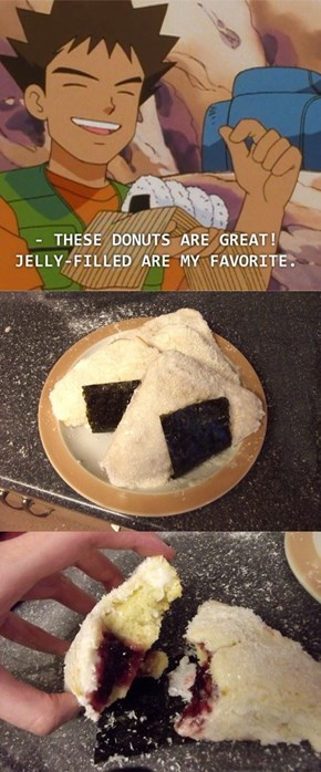 They Really Were Donuts!