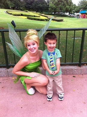 OMG! I Can't Believe I'm Meeting the Real Tinkerbell!