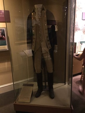 The Actual Uniform Worn by George Washington a.k.a. the Greatest Patriot in the History of Ever