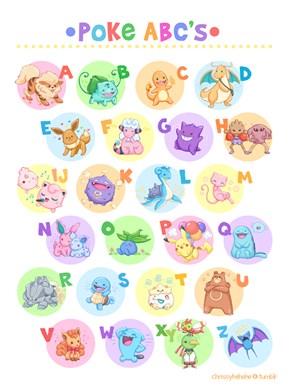 Learn Your ABCs With Pokémon!