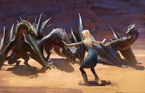 Daenerys Targaryen Learned a Lot After She Saw Jurassic World