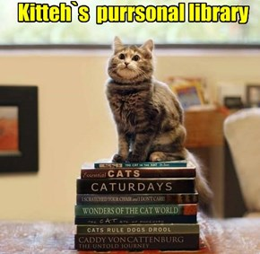 Kitteh`s  purrsonal library