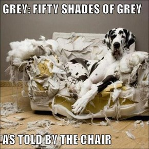 GREY: FIFTY SHADES OF GREY   AS TOLD BY THE CHAIR