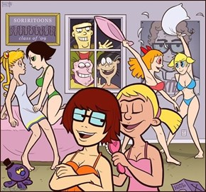 Childhood Ruined: Classic Cartoons Go to College