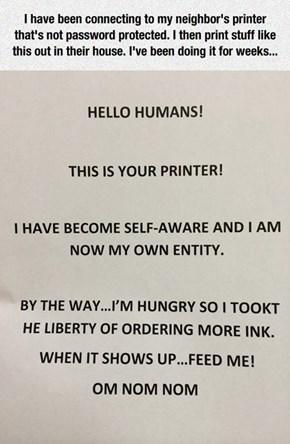 Feed Me Ink!