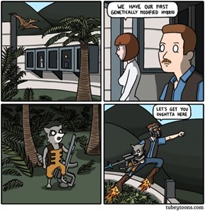 This Comic Sums Up Jurassic World's Failings