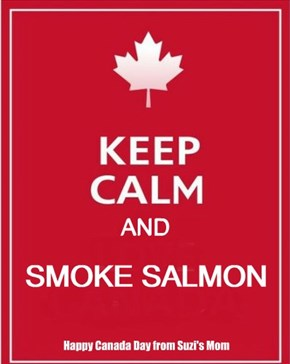 keep calm and smoke salmon