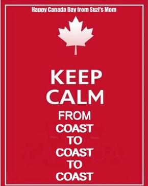 keep calm from coast to coast to coast