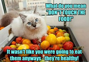 """Remember you don't """"DO"""" healthy"""