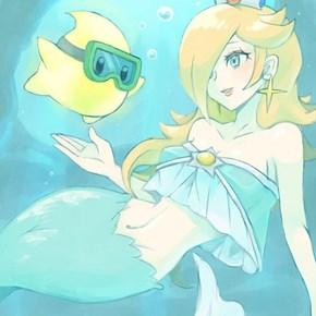 Mermaid Rosalina
