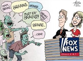 Why Fox News Wouldn't Mind a Zombie Apocalypse