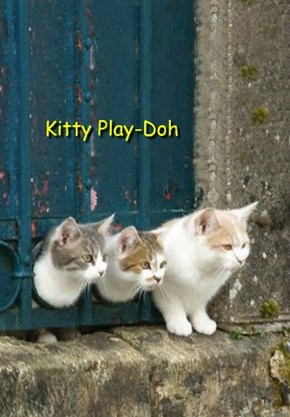Kitty Play-Doh