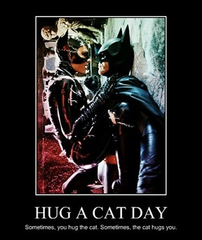HUG A CAT DAY