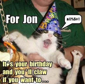 For Jon