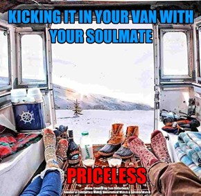 KICKING IT IN YOUR VAN WITH YOUR SOULMATE