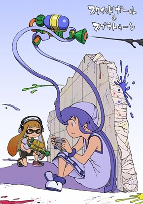 This is Probably What the Squid Girl DLC Will Be Like