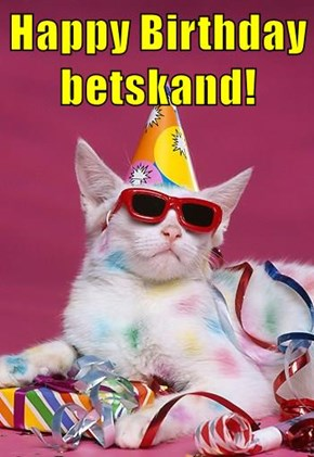Happy Birthday betskand!
