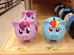 Pony Piggy Banks