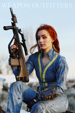 The Cover of 'Weapon Outfitters' Has Some Interesting Clothes...