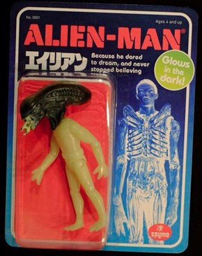 We Could All Learn a Thing From Generic Alien Man