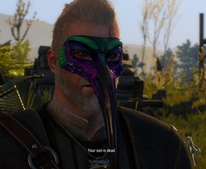 The Witcher 3 is a Supr Srs Game