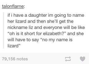 "Lizard ""Liz"" Marie Smith"