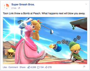 Super Smash Bros. Takes on Clickbait