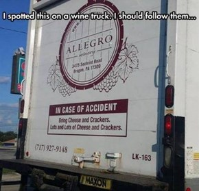 If Any Truck Was Ever Asking For An Accident...