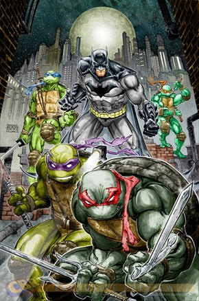 Coming soon: Batman meets TMNT