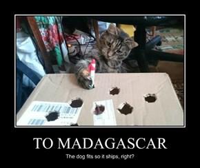TO MADAGASCAR