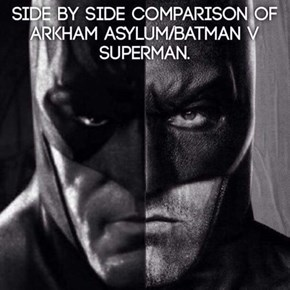 Batfleck Needs to Shave