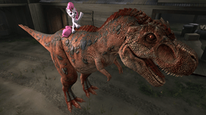 Ride The Dino!