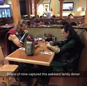Awkward Family Dinner