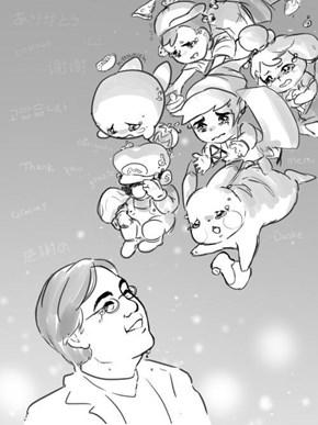 Rest in Peace, Satoru Iwata (1959-2015)