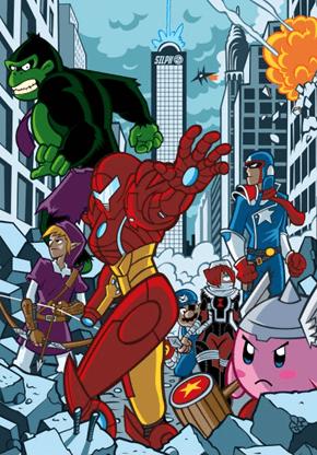 Nintendo's Avengers