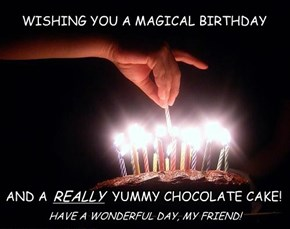 WISHING YOU A MAGICAL BIRTHDAY