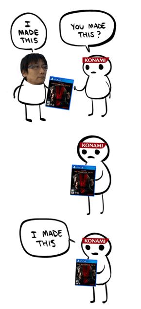 Konami's New Marketing Strategy