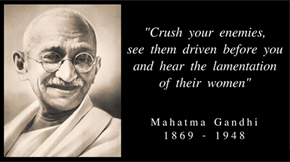 Civ Gandhi on What is Best in Life