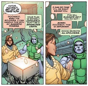 Step Aside Fantastic 4, No One Beats DoomBot